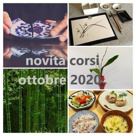 Nuovi corsi Ottobre 2020