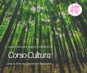 Corso di Cultura giapponese con la dott.ssa Emanuela Borgnino