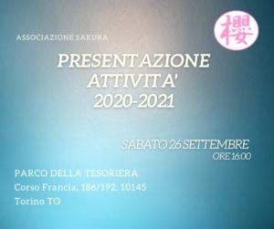 Presentazione Corsi 20/21