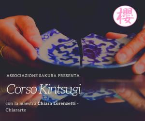 Corso Kintsugi- con la maestra Chiara Lorenzetti