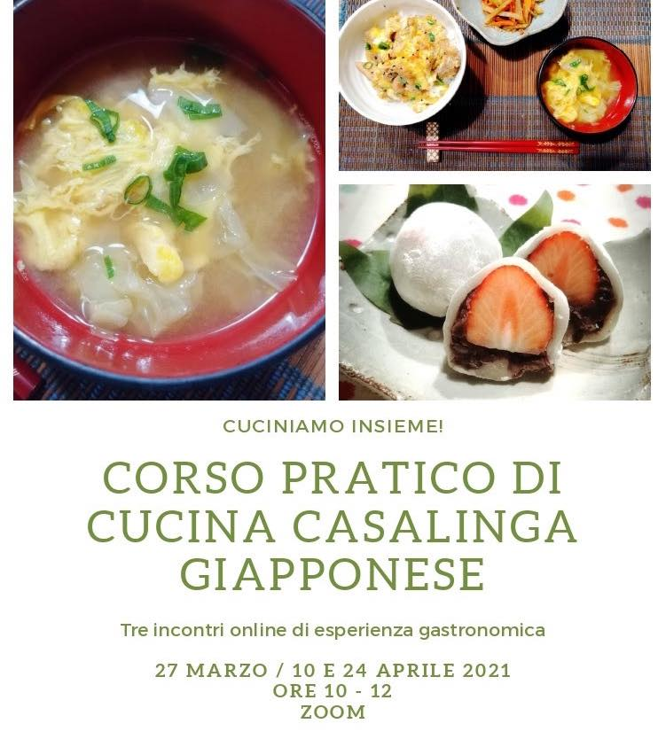 Corso Pratico di Cucina casalinga giapponese
